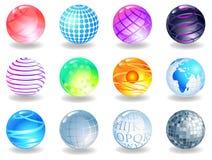 sphères Illustration de Vecteur