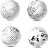 Sphères abstraites de technologie illustration libre de droits