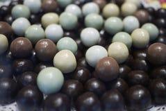 Sphères assorties de chocolat Photo stock