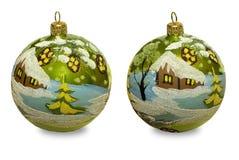 Sphères de Noël Images stock