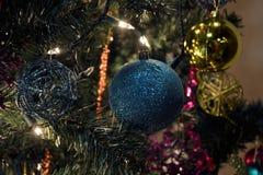 sphères de Noël 3d blanches Images stock