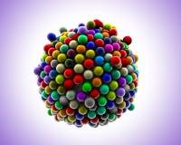 Sphères de réception Illustration Stock