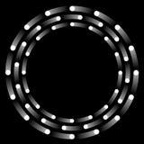 Sphères de rotation illustration de vecteur