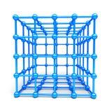 sphères du cube 3D et du coin Images libres de droits