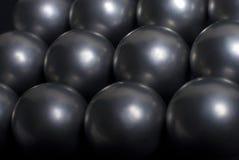Sphères en acier Photos stock