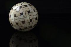 Sphères en bois Photos stock