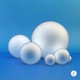 sphères illustration 3D Photos libres de droits