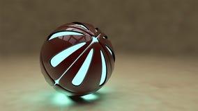Sphères - illustration 3D Images libres de droits