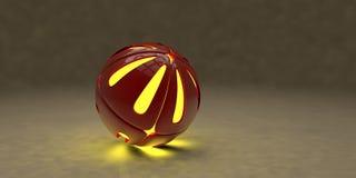 Sphères - illustration 3D Image stock