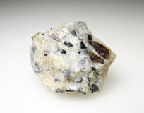 Sphene (titanite) -矿物 免版税库存照片