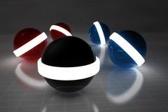 sphere 3d Arkivfoton