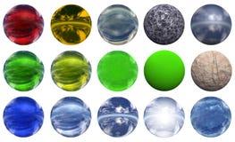 sphere 3d Royaltyfri Fotografi
