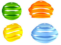 Sphere 3d design Royalty Free Stock Image