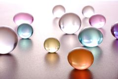 Sphere. Abstact color balls background - macro shot Royalty Free Stock Photo