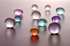 Sphere. Abstact color balls background - macro shot Royalty Free Stock Photos