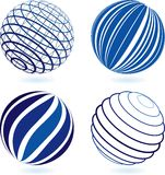 Sphere. Choose you new vector base logo Royalty Free Stock Photos