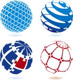 Sphere. Pick up you new logo Stock Photography