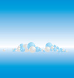 Sphere background 3 Royalty Free Stock Photo