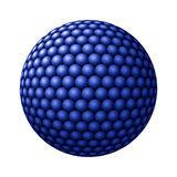Sphere of Blue Spheres against White Royalty Free Stock Images