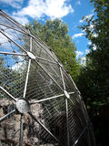 Sphere cage in zoo Royalty Free Stock Image