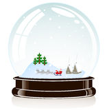 Sphere Christmas toy Stock Photography