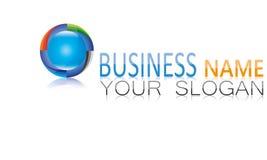 Sphere, Circle, Logo, Global, Abstract, Business, Company, símbolo redondo del icono Imagenes de archivo