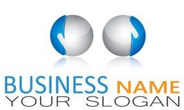 Sphere, Circle, Logo, Global, Abstract, Business, Company, símbolo redondo del icono Fotografía de archivo libre de regalías