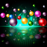 Sphere Color Represents Spectrum Orbs And Ball Royalty Free Stock Image