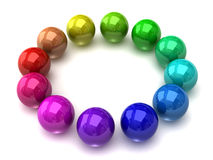 sphere color wheel Stock Photo