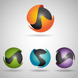 Sphere colorful Royalty Free Stock Image