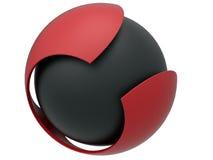 Sphere core concept Royalty Free Stock Photos