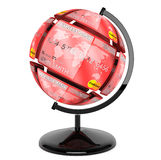 Sphere from credit cards as globe Royalty Free Stock Image