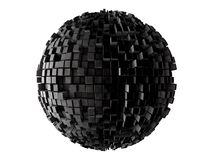 Sphere from n-gons Royalty Free Stock Photos