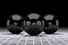 sphere 3d Fotografering för Bildbyråer