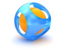sphere 3d Arkivbild