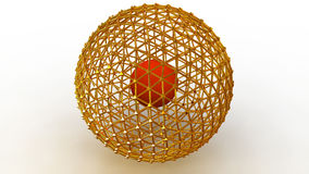 Sphere. 3d stock footage