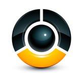 Sphere design royalty free illustration