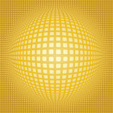 Sphere digital background Stock Images