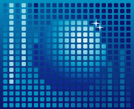 Sphere digital background, disco ball. Nightclub Royalty Free Illustration