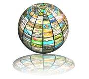 Sphere entertainment Royalty Free Stock Photo