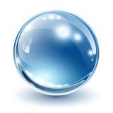 sphere för exponeringsglas 3d Royaltyfri Bild