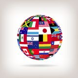Sphere Flags Stock Images
