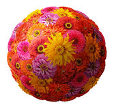 Sphere from flowers