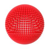 Sphere From Red Spheres Stock Photography