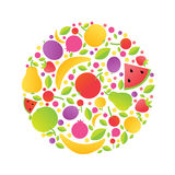 Sphere From Fruit Stock Image