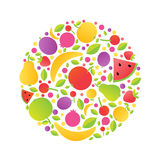 Sphere From Fruit Stock Images