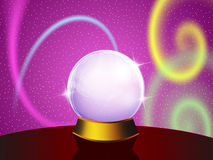 Sphere of the future Stock Image