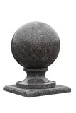Sphere granite Royalty Free Stock Image