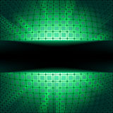 Sphere with green illumination. EPS 8. File included Stock Image