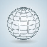 Sphere icon design Royalty Free Stock Photography